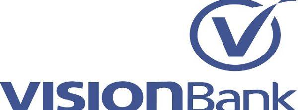 VISIONBank Logo - Pantone BLUE